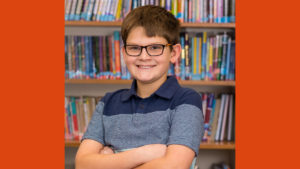 Sebastian builds confidence, reading ability and more at Miriam