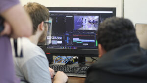 Multimedia classes allow students to be creative, discover new talents